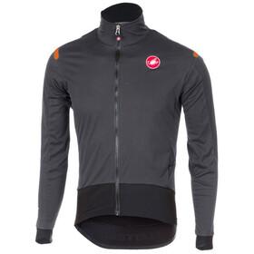 Castelli Alpha Ros Light Jacket Men anthracite/black